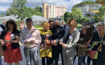 Inauguration de la ferme urbaine Mille Pousses, journée portes ouvertes !